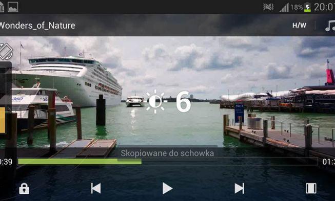 MX Player aplikacja do oglądania filmów na smartfonie