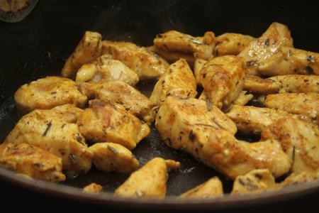 Podsmażamy kurczaka