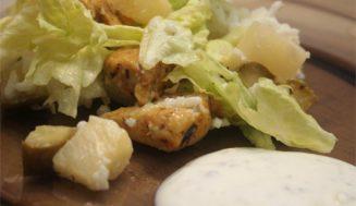 Najlepsza na masę – sałatka z kurczakiem i ryżem